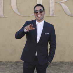 Miguel Ángel Silvestre en la presentación de la colección Crucero de Dior 2017