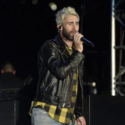 Adam Levine actuando en el Festival Wango Tango 2017