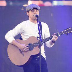 Niall Horan actuando en el Festival Wango Tango 2017