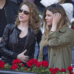Silvia Abascal y Manuela Velasco en la semifinal del Open de Madrid 2017