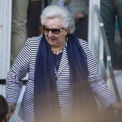 La Infanta Pilar en la semifinal del Open de Madrid 2017