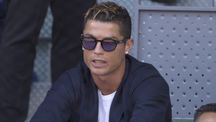 Cristiano Ronaldo en la semifinal del Open de Madrid 2017
