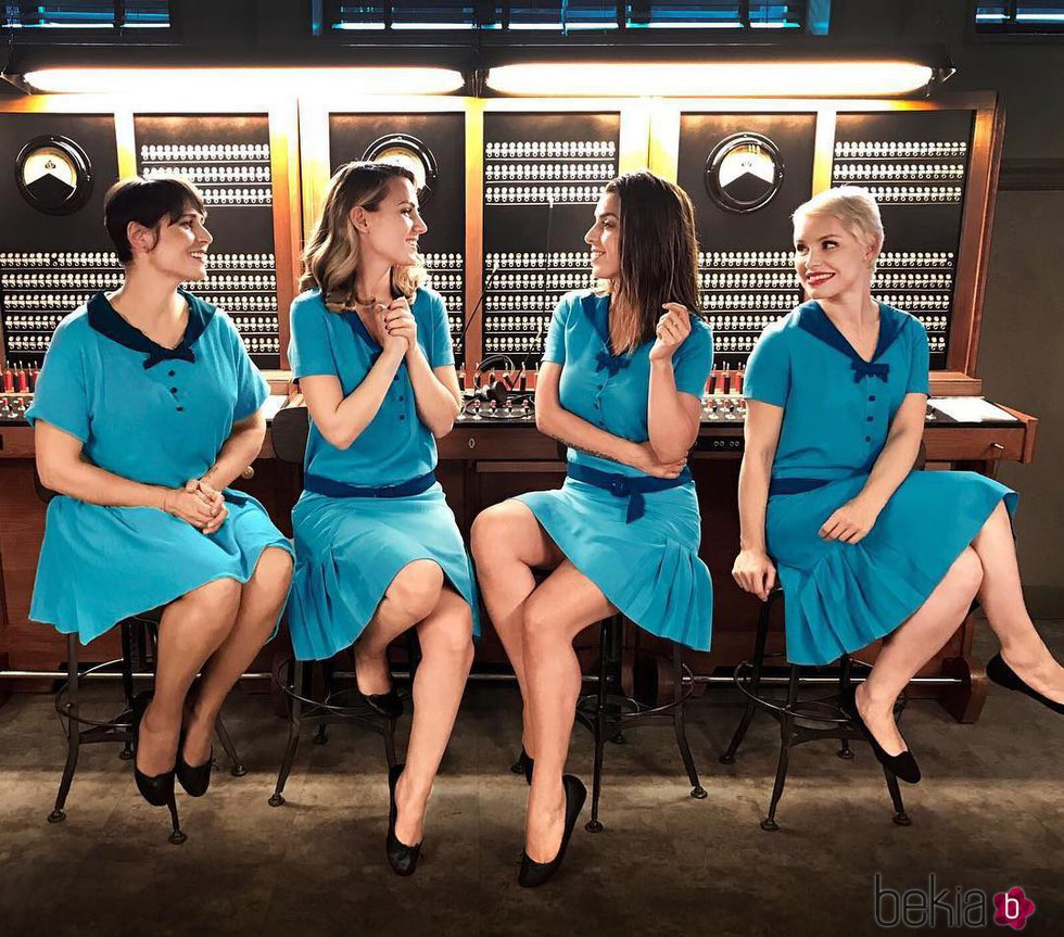 Rosa López, Edurne, Ruth Lorenzo y Soraya parodian a 'Las chicas del cable'