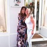 Raquel Bollo y Belén esteban se reencuentran en Sevilla
