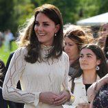 Kate Middleton en una fiesta para los niños refugiados