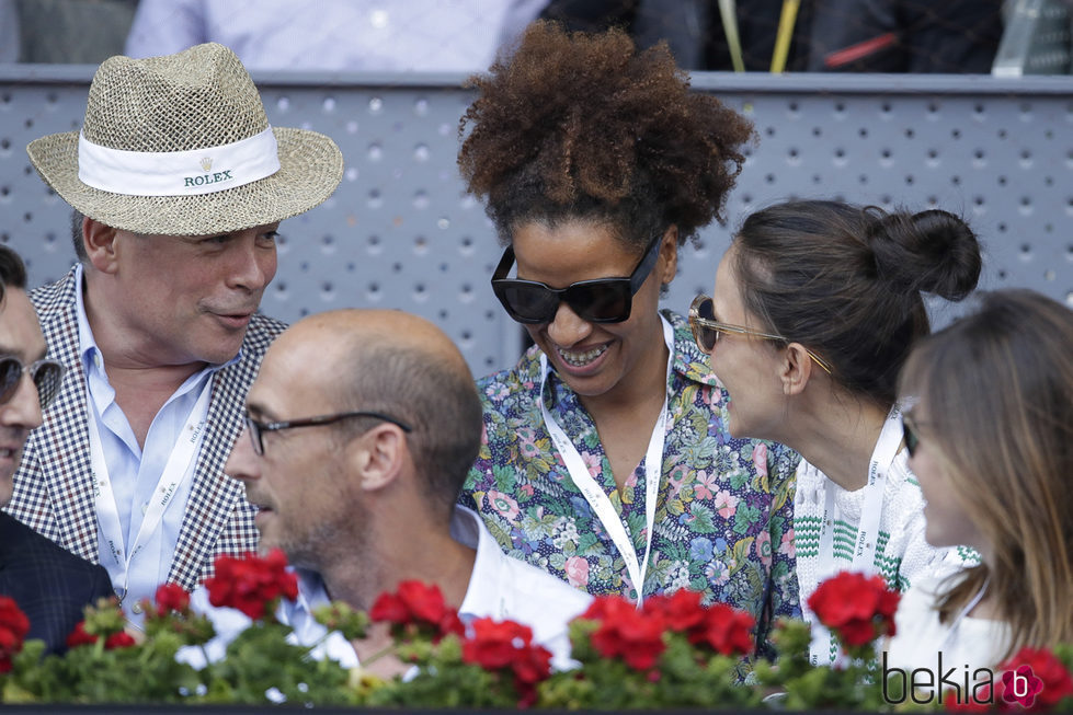 Boris Izaguirre en el Open de Madrid 2017
