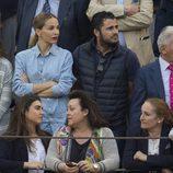 Carola Baleztena y Emiliano Suárez en la corrida de toros del día de San Isidro 2017