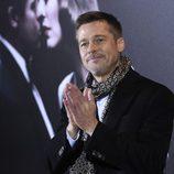 Brad Pitt en la premiére de 'Aliados'
