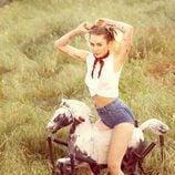 Miley Cyrus feliz con su nueva vida