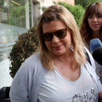 Terelu Campos muy preocupada por la salud de su madre María Teresa Campos