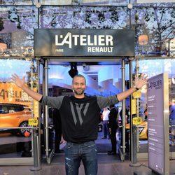 Tony Parker en un acto de la firma Atelier Renault en París