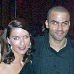 Tony Parker con Erin Barry