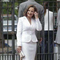 Paloma Rocasolano en la Comunión de la Infanta Sofía