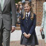 La Infanta Sofía, muy solemne en su Comunión