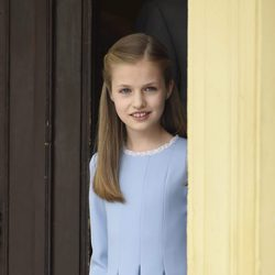 La Princesa Leonor en la Comunión de la Infanta Sofía