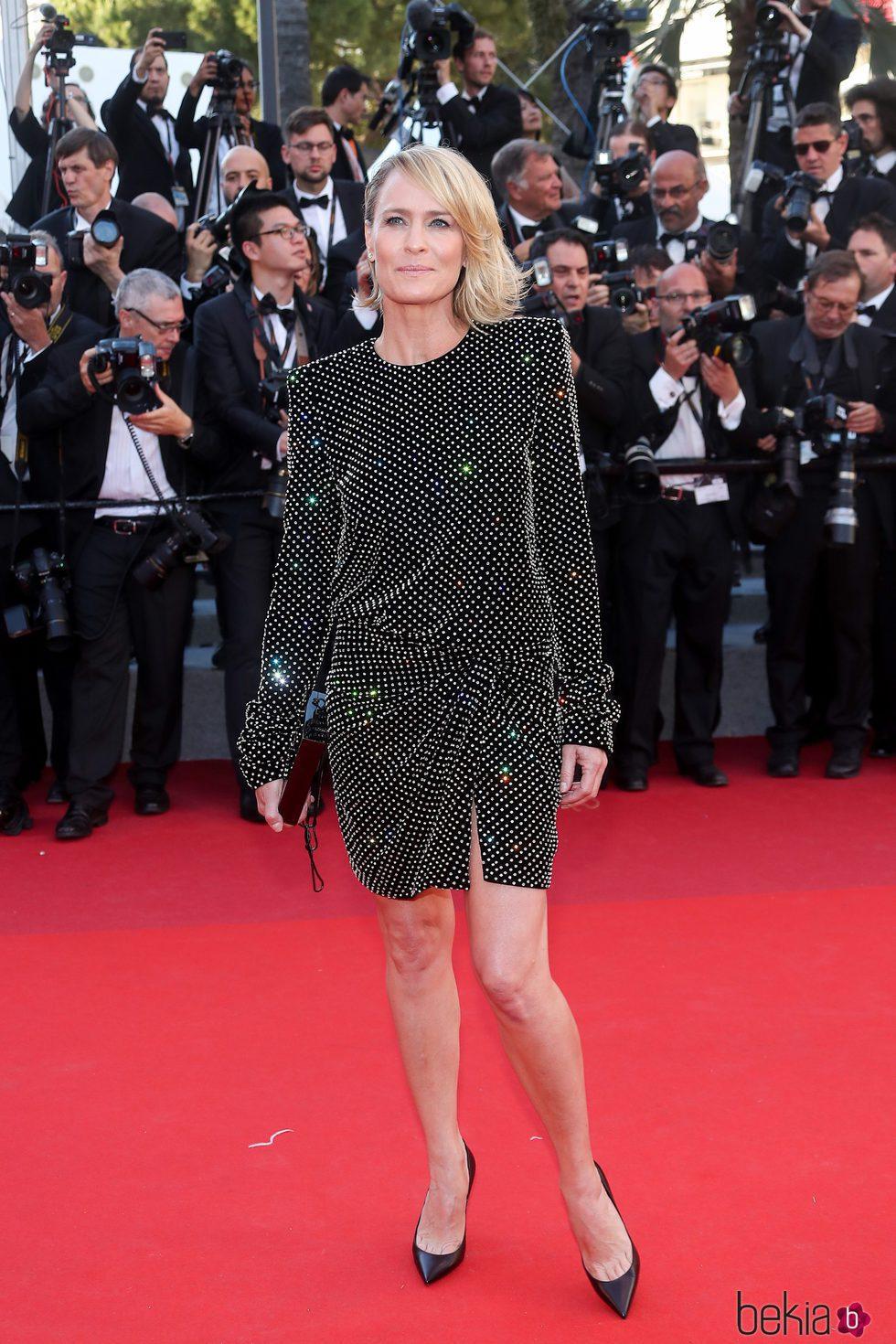 Robin Wright en la gala inaugural del Festival de Cannes 2017