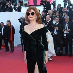 Susan Sarandon en la gala inaugural del Festival de Cannes 2017