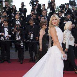 Hofit Golan en la gala inaugural del Festival de Cannes 2017