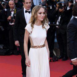 Lily Rose Depp en la gala inaugural del Festival de Cannes 2017