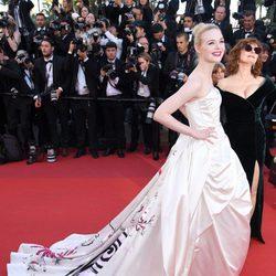 Elle Fanning en la gala inaugural del Festival de Cannes 2017