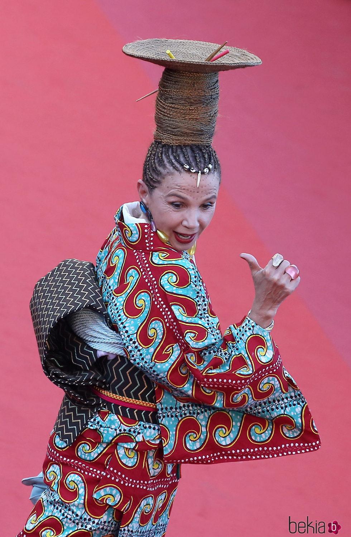 Victoria Abril en la gala inaugural del Festival de Cannes 2017