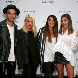 Àlex Domenech, Gigi Vives, Alba Paúl y Dulceida en la inauguración de la tienda de Antonella Roccuzzo y Sofía Balbi