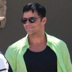 Ricky Martin en el rodaje de 'Versace: American Crime Story'