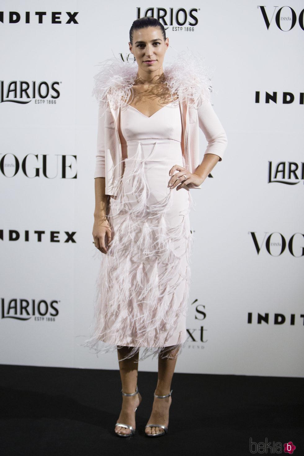 Eugenia Osborne en la fiesta Vogue Who's on next 2017