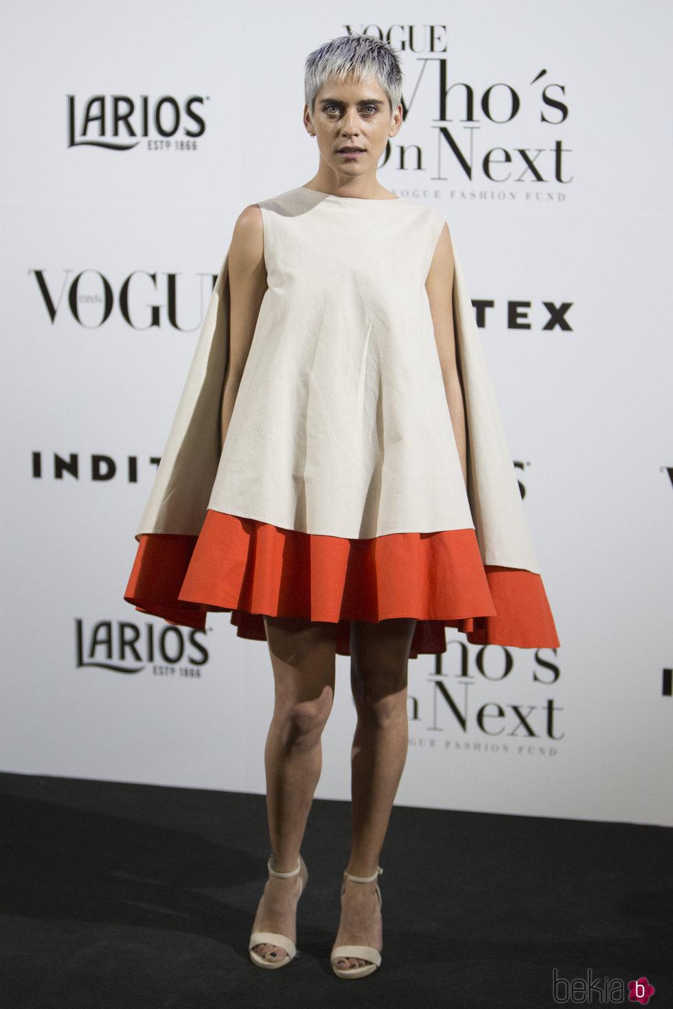 María León en la fiesta Vogue Who's on next 2017