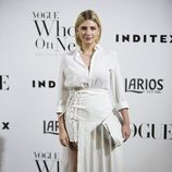 Miriam Giovanelli en la fiesta Vogue Who's on next 2017