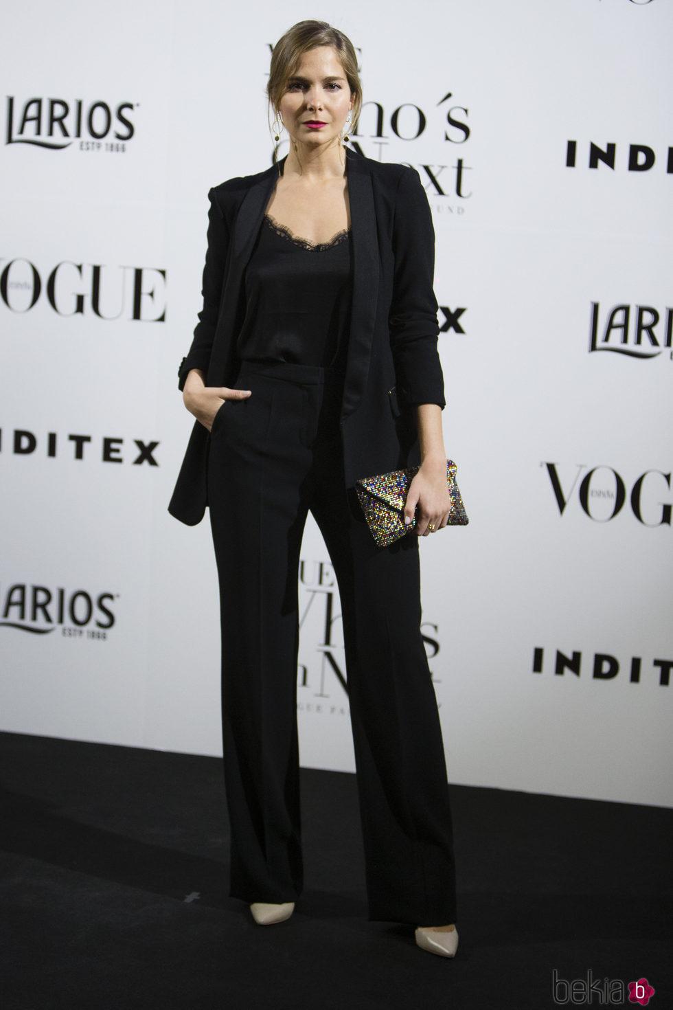 Natalia Sánchez en la fiesta Vogue Who's on next 2017