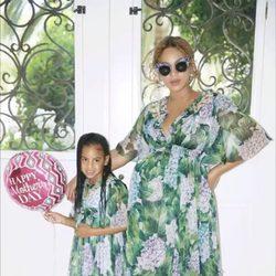 Blue Ivy felicita a Beyoncé por el día de la madre