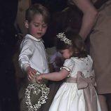 El Príncipe Jorge y la Princesa Carlota, vestidos para la boda de su tía Pippa Middleton