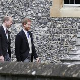 Los Príncipes Harry y Guillermo de Inglaterra en la boda de Pippa Middleton