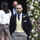 James Middleton en la boda de su hermana Pippa Middleton