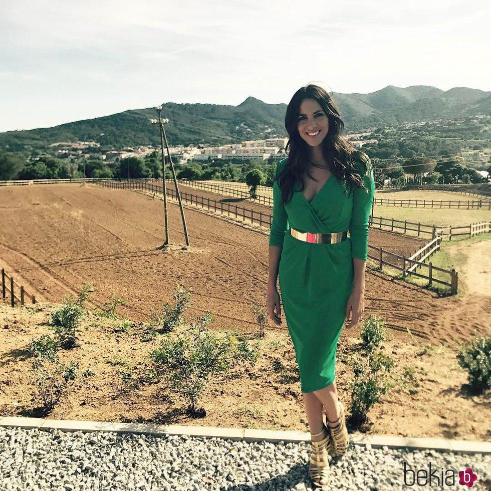 Irene Junquera en la boda de Risto Mejide y Laura escanes