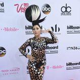 La cantante Z LaLa muy extravagante en los Billboard 2017