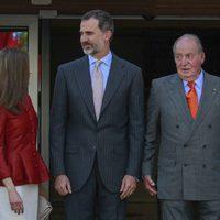 Los Reyes Felipe y Letizia y el Rey Juan Carlos en el 40 aniversario de la Fundación Reina Sofía