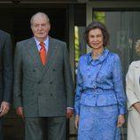 El Rey Juan Carlos y la Reina Sofía en el 40 aniversario de la Fundación Reina Sofía