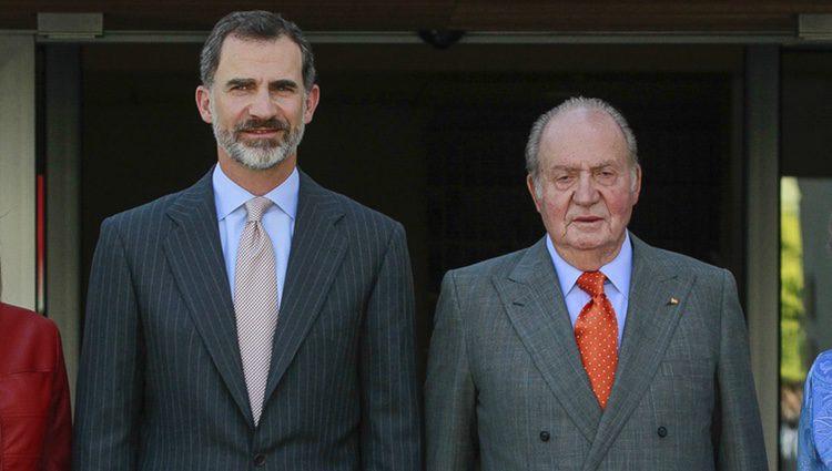 El Rey Felipe y el Rey Juan Carlos en el 40 aniversario de la Fundación Reina Sofía