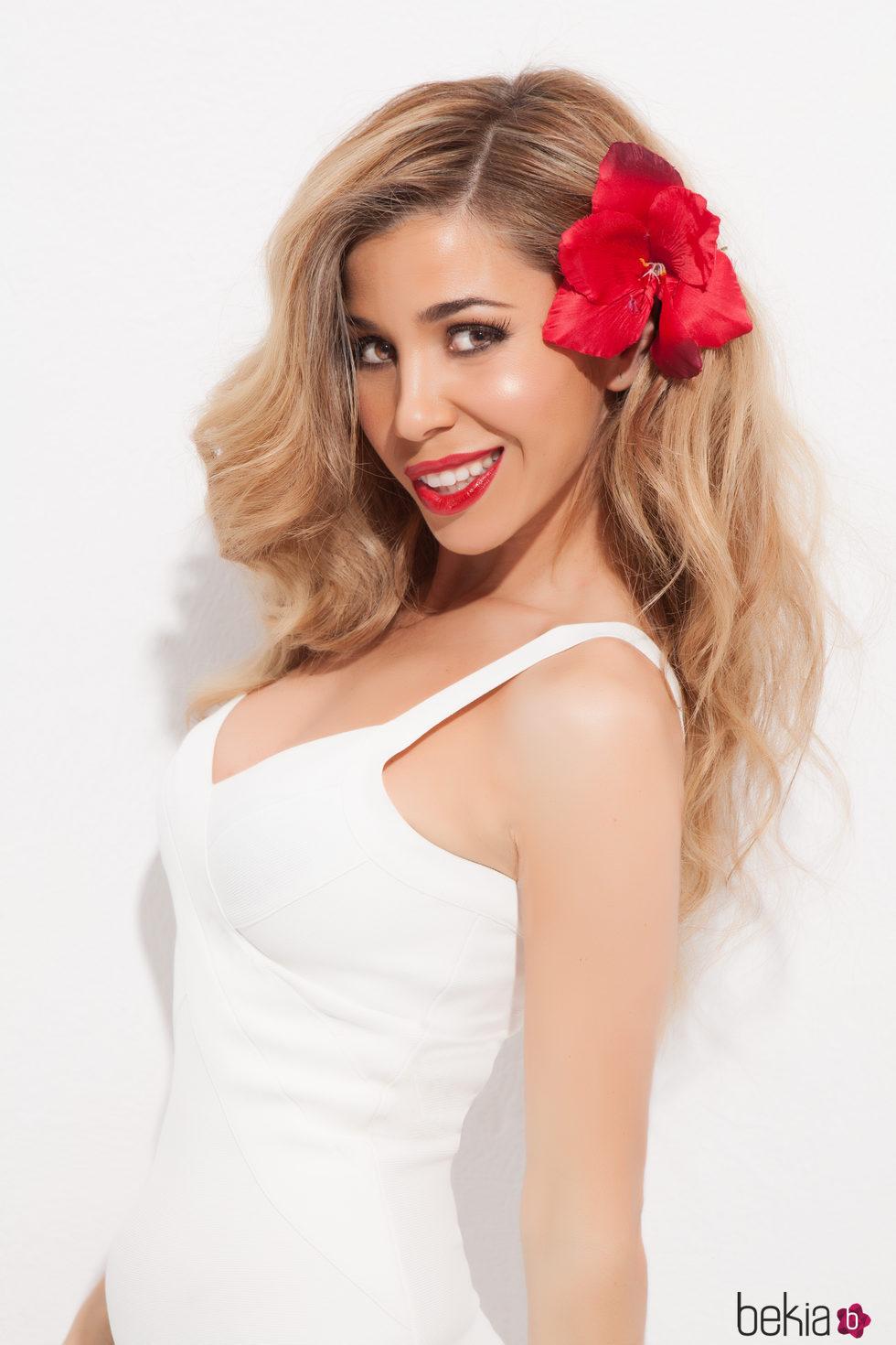 Natalia Rodríguez sonriente