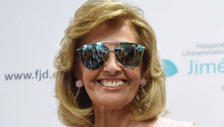 Primera imagen de María Teresa Campos al recibir el alta tras el ictus que sufrió