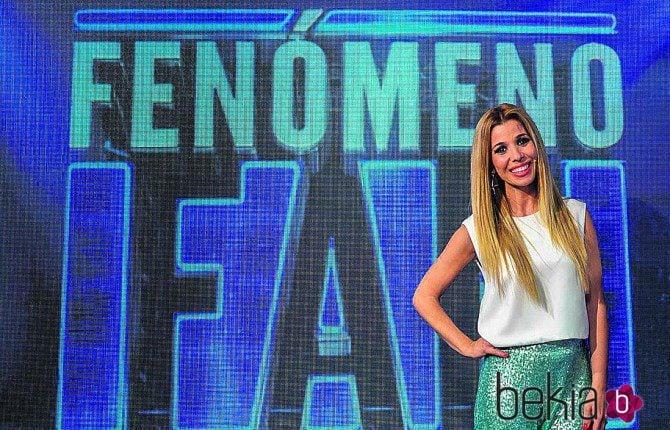 Natalia en su programa 'Fenómeno Fan'