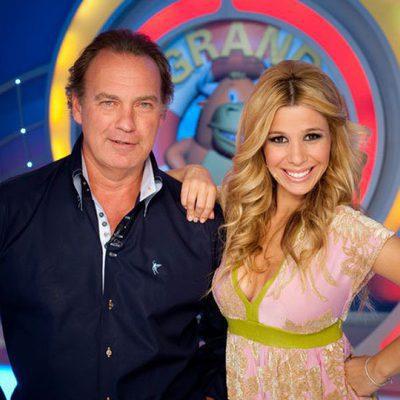 Natalia acompañada de Bertín Osborne en el programa 'El Grand Prix del verano'