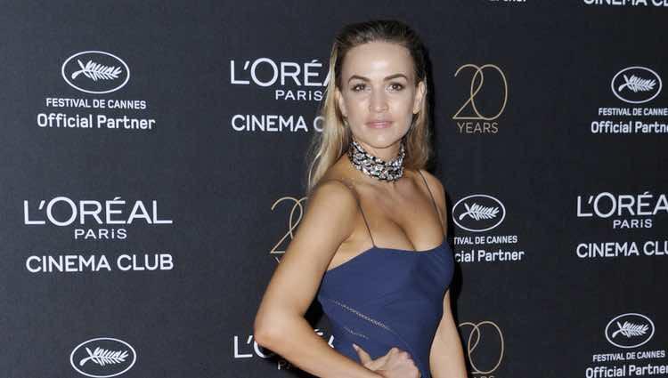 Carmen Jordá en la fiesta de L'Oreal en Cannes 2017