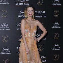 Mischa Barton en la fiesta de L'Oreal en Cannes 2017