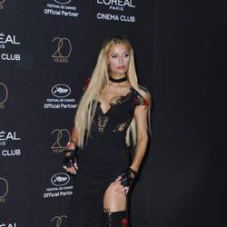 Paris Hilton en la fiesta de L'Oreal en Cannes 2017