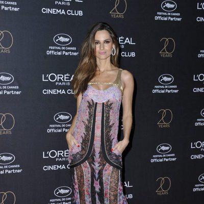 Ariadne Artiles en la fiesta de L'Oreal en Cannes 2017