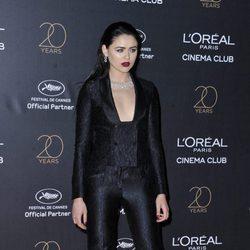 Kristina Bazan en la fiesta de L'Oreal en Cannes 2017