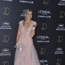 Hofit Golan en la fiesta de L'Oreal en Cannes 2017